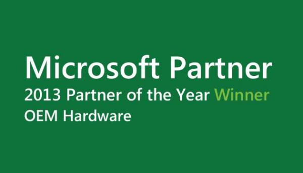 2013 microsoft worldwide partner award oem for Hdw partner
