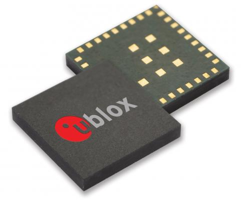 覆い隠すような資産追跡用に最適化されたユーブロックスの小型GNSSレシーバー