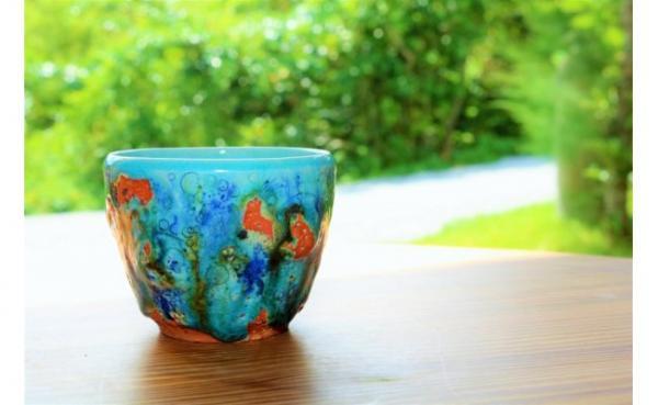 沖縄県大宜味村(おおぎみそん)「ふるさと納税」お礼品に『海面鏡 泡盛カップ』を新たに追加いたしました画像