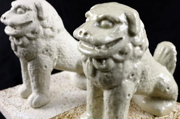 沖縄県八重瀬町(やえせちょう)「ふるさと納税」お礼品に『富盛の石彫大獅子【レプリカ】2体セット』を新たに追加いたしました画像