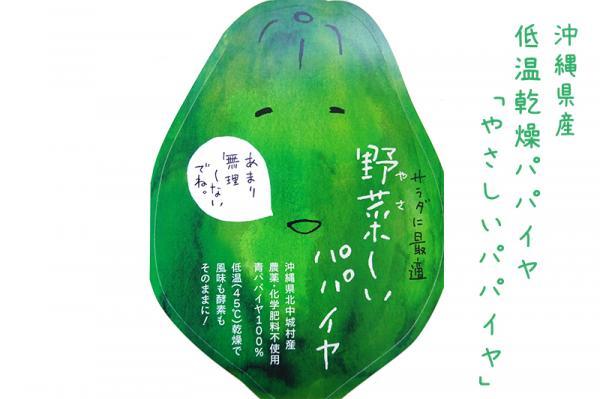沖縄県北中城村(きたなかぐすくそん)「ふるさと納税」お礼品に『沖縄県産 低温乾燥パパイヤ「やさしいパパイヤ」』を新たに追加いたしました画像