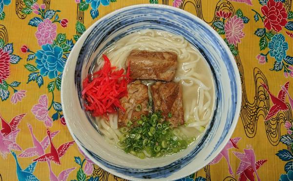 沖縄県中城村(なかぐすくそん)「ふるさと納税」お礼品に『自家製生麺まるやす5食セット【ソーキ・三枚肉・なんこつ・ゆしどうふ・アーサ】』を新たに追加いたしました画像