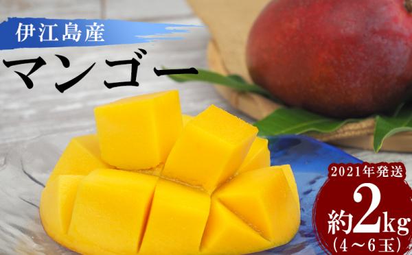 沖縄県伊江村(いえそん)「ふるさと納税」お礼品に『【2021年発送】伊江島産 農家直送マンゴー約2kg(4~6玉)』を新たに追加いたしました画像