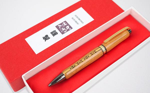 沖縄県沖縄市(おきなわし)「ふるさと納税」お礼品に『沖縄県産 木製ボールペン いつよシリーズ』を新たに追加いたしました画像