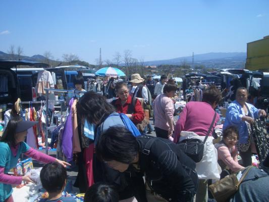 フリーマーケット楽市楽座が群馬県渋川市で出店料無料の『D ...